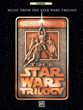 The Star Wars Trilogy: Special Edition--Music from (Book); Clarinet (Clarinet); Movie; #YL00-0014B Music by John Williams