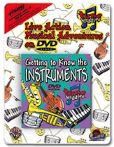 Tune Buddies : Getting to Know the Instruments (miniDVD), #YL00-0018D, Sheet Music