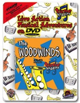 Tune Buddies : The Woodwinds (miniDVD), #YL00-0019D, Sheet Music