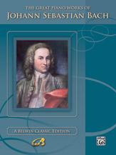 The Great Piano Works of Johann Sebastian Bach (Book) (Piano); Masterwork; #YL00-0030B By Johann Sebastian Bach