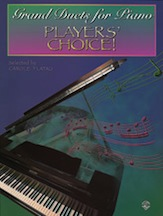 Grand Duets for Piano: Players' Choice! (Book) (Piano); #YL00-0083B Ed. Carole Flatau