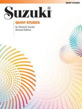 Quint Etudes (Revised) (Book); Violin (Violin); #YL00-0095S By Shinichi Suzuki