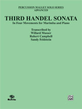 Third Handel Sonata for Marimba and Piano