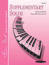 Supplementary Solos; Level 1 (Book) (Piano); #YL00-0105 Selected and edited by Frances Clark and Louise Goss