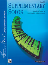 Supplementary Solos; Level 2 (Book) (Piano); #YL00-0106 Selected and edited by Frances Clark and Louise Goss