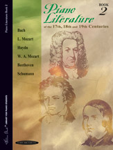 Piano Literature of the 17th; 18th; and 19th Centuries; Book 2 (Book) (Piano); Masterwork; #YL00-0126