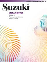 Suzuki Viola School Piano Acc.; Volume A (contains Volumes 1 & 2) (Book) (Viola); #YL00-0245S