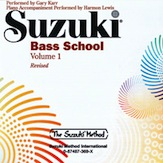 Suzuki Bass School CD, Volume 1 (Revised)