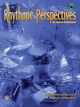 Rhythmic Perspectives; A Multidimensional Study of Rhythmic Composition (Book & CD) (Drumset); #YL00-0425B By Gavin Harrison