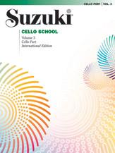 Suzuki Cello School, Volume 3