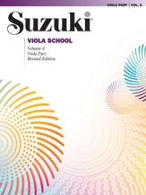 Suzuki Viola School Viola Part; Volume 6 (Revised) (Book) (Viola); #YL00-0491S