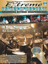 Extreme Interdependence; Drumming Beyond Independence (Book & CD) (Drumset); #YL00-0560B By Marco Minnemann; written in collaboration with Rick Gratton