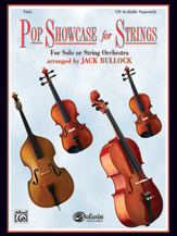Pop Showcase for Strings; For Solo or String Orchestra (Book); Viola (Viola); Pop; #YL00-0601B Arr. Jack Bullock
