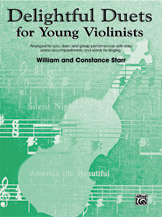Delightful Duets (Book); Piano Part (Piano Acc. (Instrumental)); #YL00-0609 By William and Constance Starr