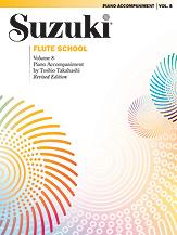 Suzuki Flute School Piano Acc., Volume 8 (Revised)