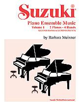 Suzuki Piano Ensemble Music, Volume 1 for Piano Duo