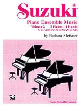 Suzuki Piano Ensemble Music, Volume 2 for Piano Duo