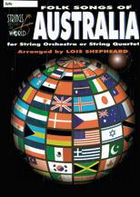Strings Around the World: Folk Songs of Australia (Book); Cello (Cello); Folk; World; #YL00-0786 Arr. Lois Shepheard