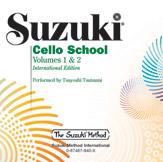 Suzuki Cello School CD, Volume 1 & 2