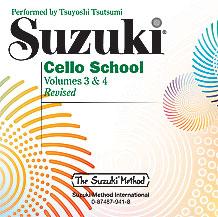 Suzuki Cello School CD, Volume 3 & 4