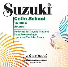 Suzuki Cello School CD, Volume 5