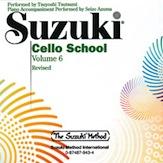 Suzuki Cello School CD, Volume 6