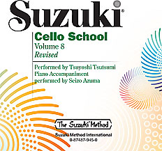 Suzuki Cello School CD, Volume 8