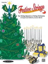 Festive Strings for String Quartet or String Orchestra