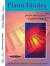 Piano Etudes for the Development of Musical Fingers, Book 4