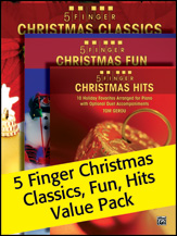 5 Finger Christmas (Value Pack)
