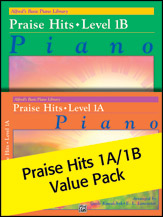 Alfred's Basic Piano Library Praise Hits 1A & 1B (Value Pack) (Packet) (Piano); Contemporary Christian; Sacred; #YL00-105667 Arr. Gayle Kowalchyk; E. L. Lancaster; and Tom Gerou