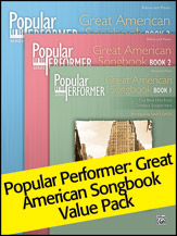Popular Performer: Great American Songbook 1-3 (Value Pack) (Packet) (Piano); Great American Songbook; #YL00-105810 Arr. Dan Coates