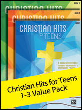 Christian Hits for Teens 1-3 (Value Pack) (Packet) (Piano); Contemporary Christian; Sacred; #YL00-106359 Arr. Melody Bober