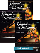 Grand Solos for Christmas 4-6 (Value Pack)
