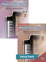 Premier Piano Express, Books 3 & 4 (Value Pack)
