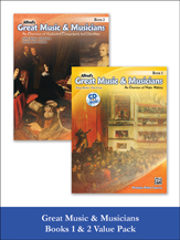 Alfred's Great Music & Musicians, Books 1 & 2