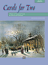 Carols for Two; 7 Duets on Traditional Carols for Advent and Christmas (Book) (Voice); Sacred; #YL00-11536 Ed. Jean Anne Shafferman