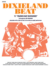 Dixieland Beat; 11 'Oldies But Goodies' (Book); Drums (Drum); Jazz; #YL00-11664X Arr. Zepp Meissner