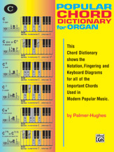 Popular Chord Dictionary for Organ (Book) (Organ); #YL00-117 By Willard A. Palmer and Bill Hughes