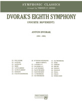 Dvorak's Eighth Symphony; Fourth Movement (Conductor Score) (Full Orchestra); Masterwork Arrangement; #YL00-12219S [Antonin Dvorak] / arr. Vernon Leidig