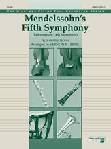 Mendelssohn's 5th Symphony 'Reformation,' 4th Movement