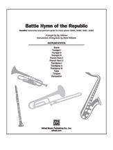 Battle Hymn of the Republic (Instrumental Parts); 3 trumpets; 2 French horns; 3 trombones; tuba; percussion; timpani; score; SoundPax (Choir); Hymn; Patriotic; Sacred; #YL00-12279 Arr. Jay Althouse