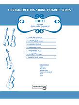 Highland/Etling String Quartet Series: Book 1 (Score) (String Quartet); #YL00-12522S Arr. Edmund J. Siennicki