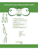 Highland/Etling String Quartet Series: Book 2 (Score & Parts) (String Quartet); #YL00-12524 Arr. Merle Isaac
