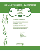 Highland/Etling String Quartet Series: Book 2 (Score) (String Quartet); #YL00-12524S Arr. Merle Isaac