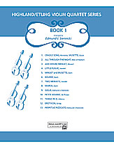 Highland/Etling Violin Quartet Series: Book 1
