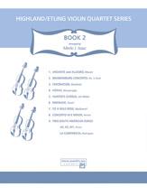 Highland/Etling Violin Quartet Series: Set 2