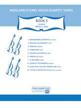 Highland/Etling Violin Quartet Series: Book 5
