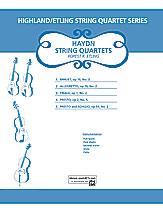Haydn String Quartets (String Quartet); Masterwork; #YL00-12594 By Franz Joseph Haydn / ed. Forest Etling