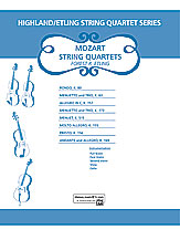 Mozart String Quartets (String Quartet); Masterwork Arrangement; #YL00-12618 [Wolfgang Amadeus Mozart] / arr. Forest Etling